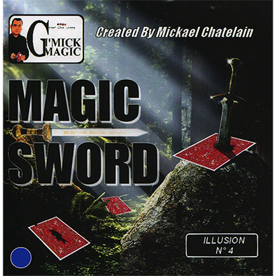 Magic Sword Card (Rojo) - Mickael Chatelain
