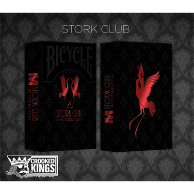 Bicycle Made Stork Club (Limited Edition) Deck by Crooked Kings Cards
