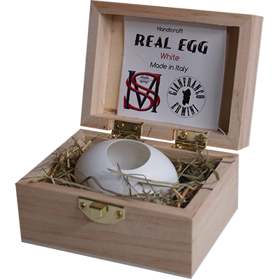 Real Egg (White) by Gianfranco Ermini & Stratomagic