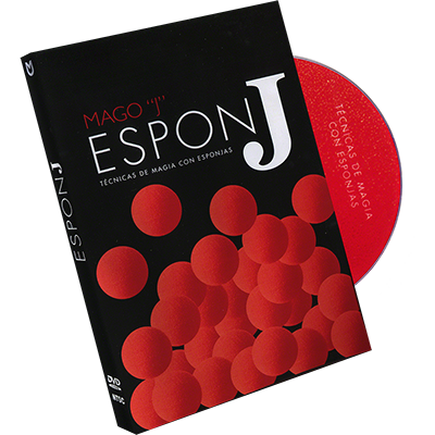 TECNICAS DE MAGIA CON ESPONJAS (Sponge Ball Techniques/ Spanish Only) - DVD
