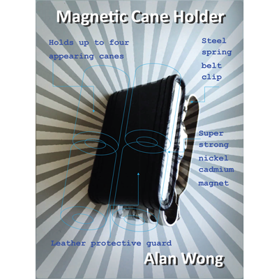 Magnetic Cane holder - Alan Wong