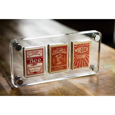 3 Deck Card Case by Gambler's Warehouse