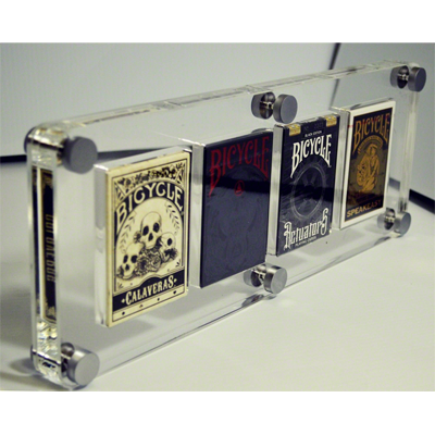 4 Deck Card Case by Gambler's Warehouse - Trick