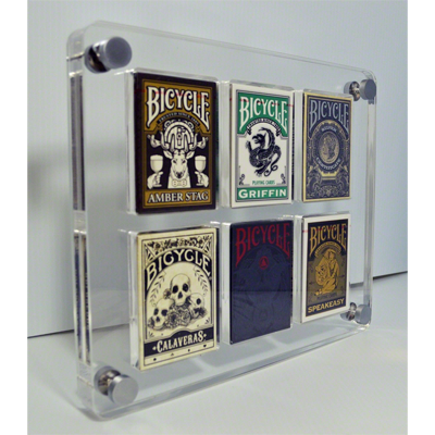 6 Deck Card Case by Gambler's Warehouse