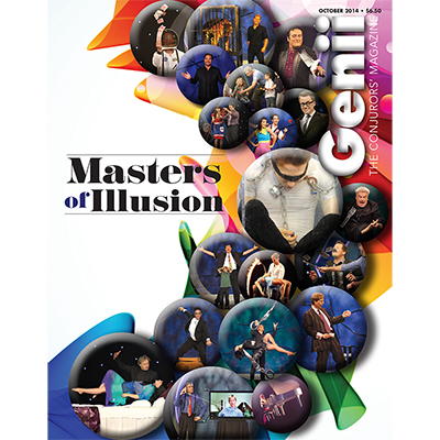 "Genii Magazine ""Masters of Illusion"" October 2014 - Book"