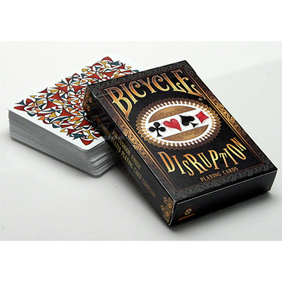 Bicycle Disruption Deck by Collectable Playing Cards