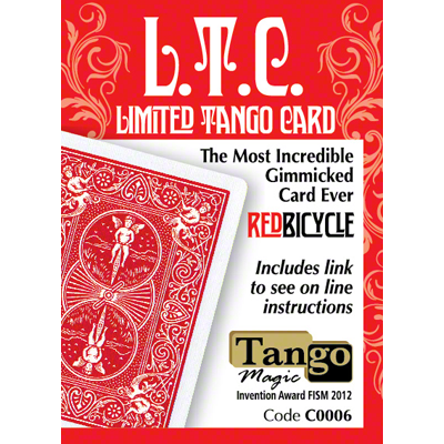 Limited Tango Card Red (T.L.C.) (C0006) by Tango - Trick
