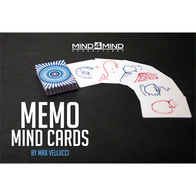 Memo Mind Cards by Max Vellucci