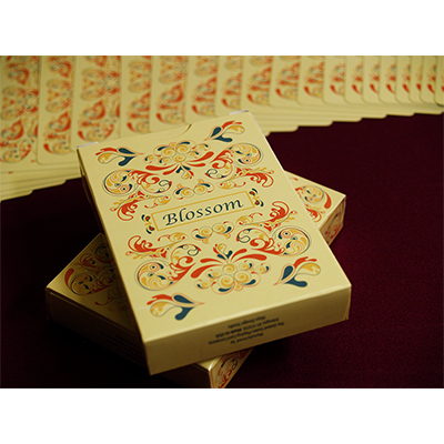 Blossom deck (Fall) Platinum Metallic Ink - Aloy Studios USPS