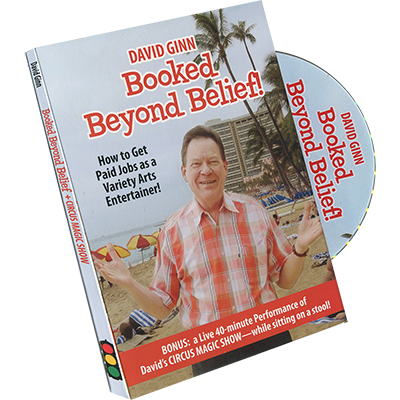 Booked Beyond Belief by David Ginn - DVD