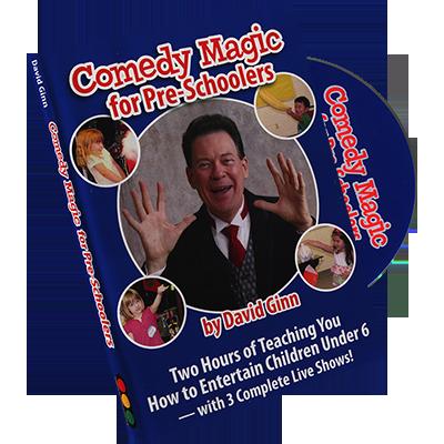 Comedy Magic for Pre-Schoolers