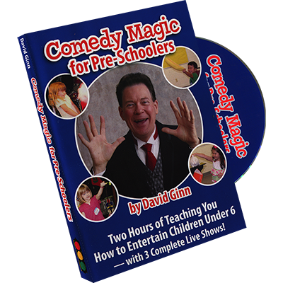 Comedy Magic for Pre-Schoolers by David Ginn
