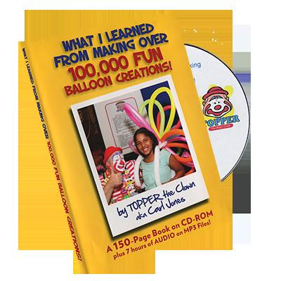 Balloon Creations by Carl Jones - DVD