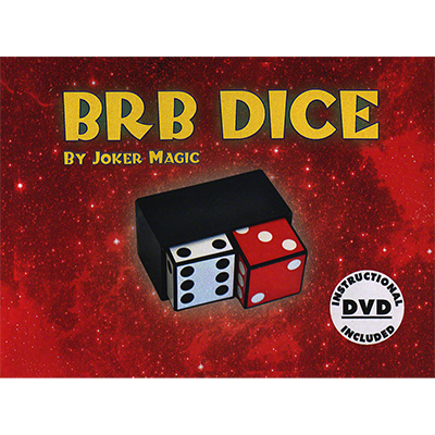 BRB Dice by Joker Magic