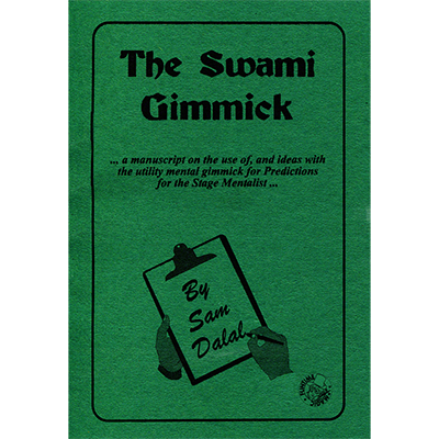 The Swami Gimmick (4 gimmicks, Lead & Book)