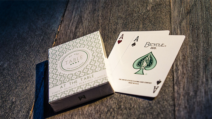 At the Table Playing Cards - Cartas Bicycle