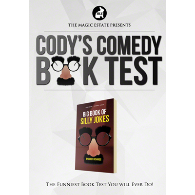 Cody's Comedy Book Test by Cody Fisher & the Magic Estate - Trick