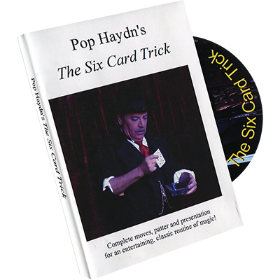 Pop Haydn's The Six Card Trick (DVD) by Whit Haydn