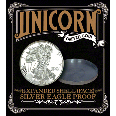 Expanded shell; (Cara) - Unicorn Gaffed Coin
