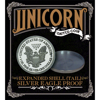Expanded shell;(Tail) by Unicorn Gaffed Coin - Trick