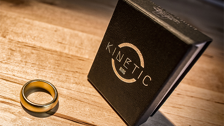 Kinetic PK Ring (Anillo Magnetico) (Gold) Curved size 9 - Jim Tr