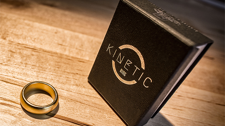 Kinetic PK Ring (Anillo Magnetico) (Gold) Curved size 12 - Jim Trainer