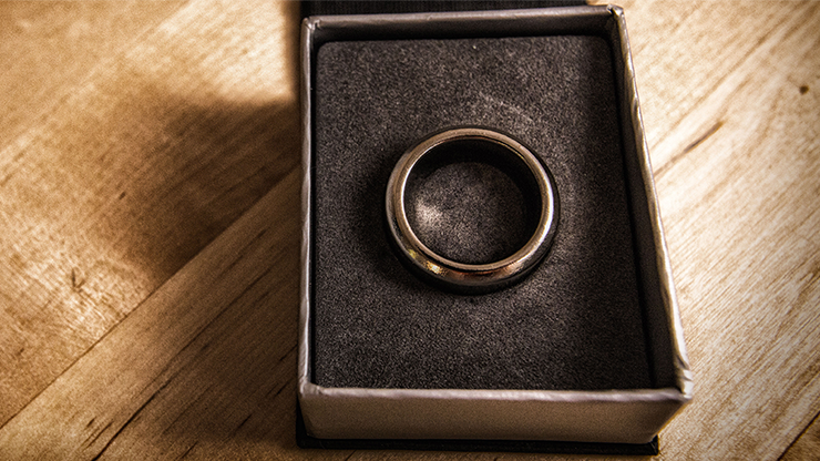 Kinetic PK Ring (Silver) Curved size 9