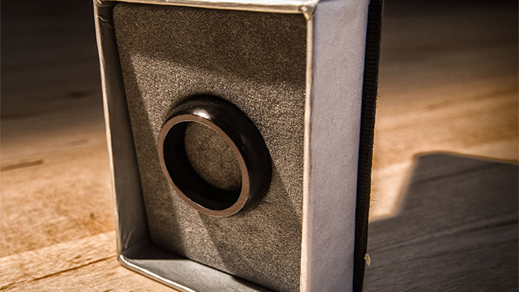 Kinetic PK Ring (Black) Curved size 8