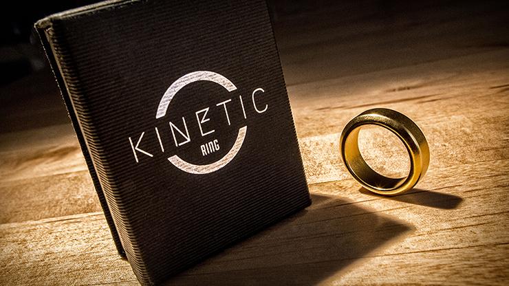 Kinetic PK Ring (Gold) Beveled size 9