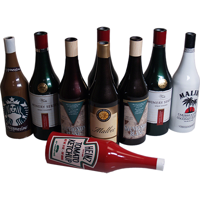 Multiplying Bottles (Multi) by Reg Donnelly - Trick