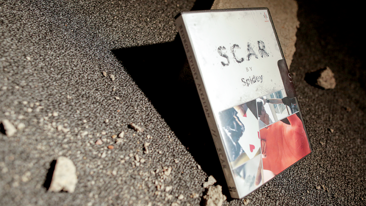 SCAR (DVD & Gimmicks) by Spidey