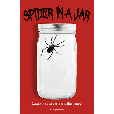 Spider in a Jar by Chazpro Magic