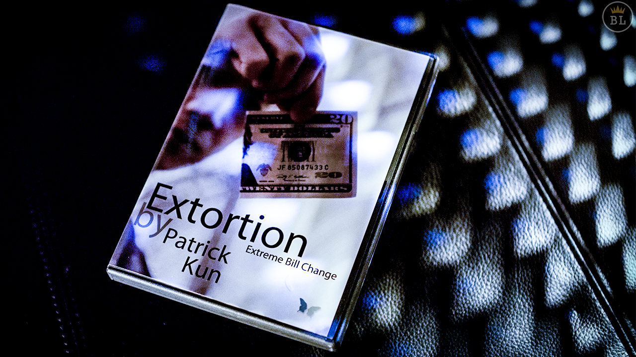 Extortion (DVD and Gimmick) by Patrick Kun and SansMinds