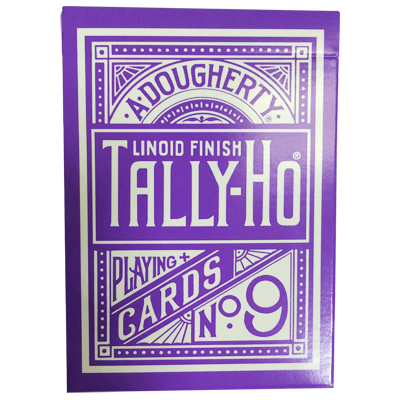 Tally Ho Reverse Circle back (Purple) Limited Ed. - Aloy Studios / USPCC
