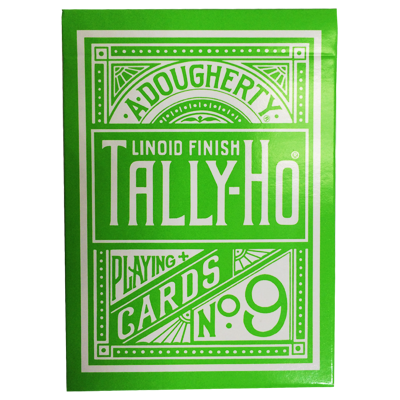 Tally Ho Reverse Circle back (Green) Limited Ed. by Aloy Studios / USPCC