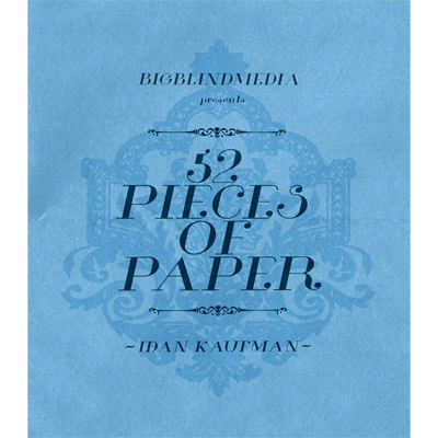 52 Pieces Of Paper by Idan Kaufman and Big Blind Media video DOW