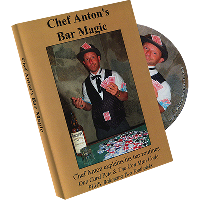 The Bar Magic of Chef Anton - Chef Anton - DVD