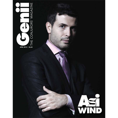 "Genii Magazine ""Asi Wind"" April 2015 - Book"