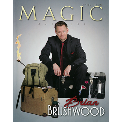 "Magic Magazine ""Brian Brushwood"" May 2015 - Book"