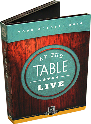 At the Table Live Lecture October 2014 (5 DVD set) - DVD