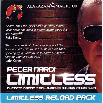 Expansion Pack (7 Of Hearts) for Limitless by Peter Nardi - DVD