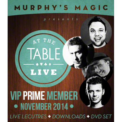 At the Table VIP Prime November 2014 (VIP Member and DVD) video DOWNLOAD