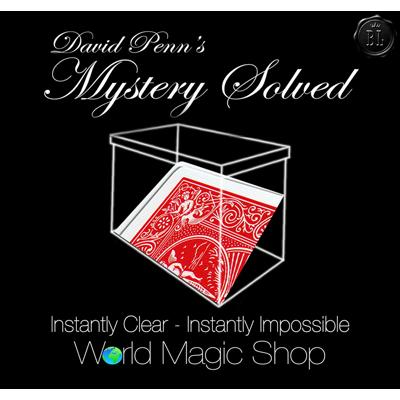 David Penn's Mystery Solved