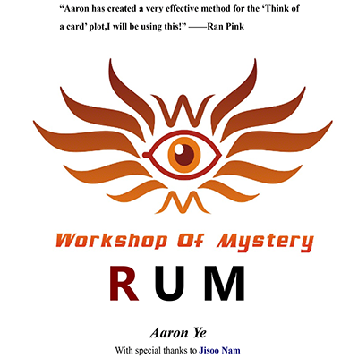 RUM by Aaron Ye - eBook DOWNLOAD