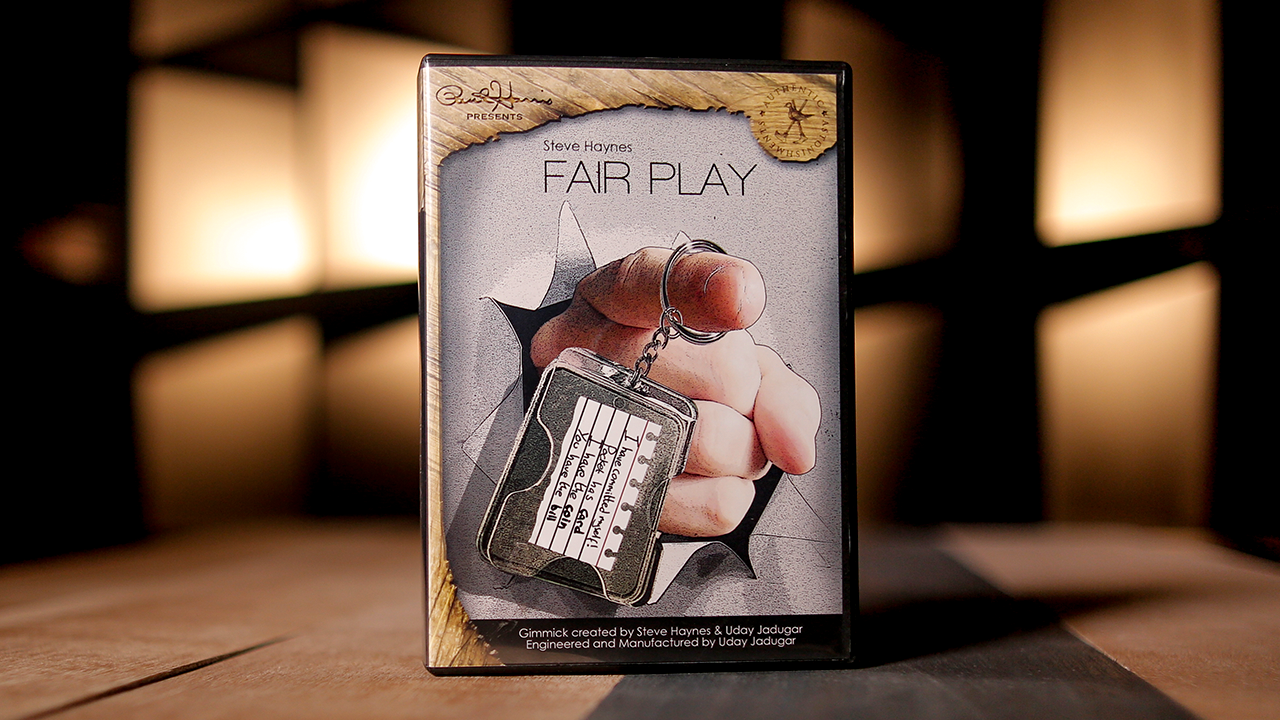 Paul Harris Presents Fair Play Spanish (DVD & Gimmick) - Steve Haynes
