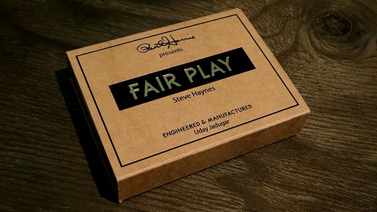 Paul Harris Presents Fair Play French (Gimmick)(Black dot) by Steve Haynes - Trick