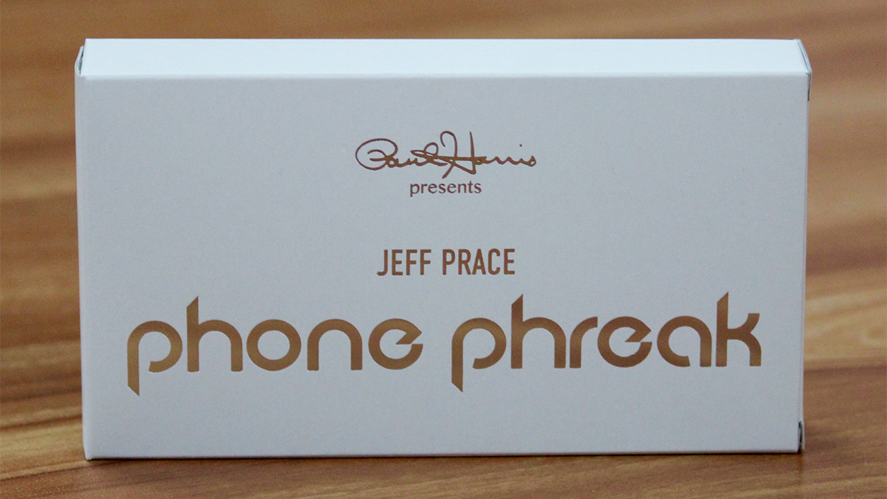 Paul Harris Presents Phone Phreak (iPhone 4) - Jeff Prace & Paul Harris
