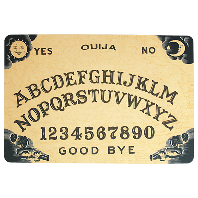 Pro-elite Workers Mat (Ouija Board Design) by Paul Romhany