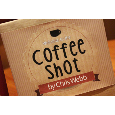 Coffee Shot (Gimmicks & DVD) by Chris Webb