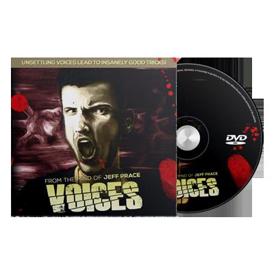 Voices (DVD & Gimmicks) by Jeff Prace